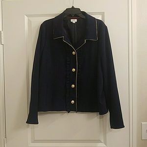 Crown and Ivy Navy Blazer